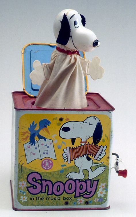 snoopy in a box